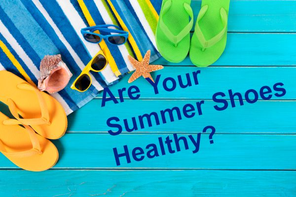 summer shoes healthy