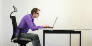 sitting computer posture
