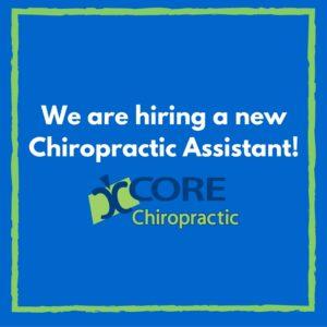 hiring chiropractic assistant