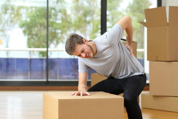 work injury back pain