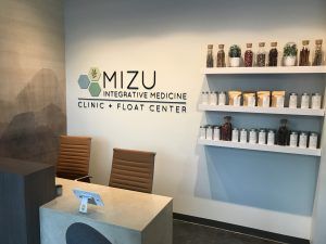 mizu float clinic